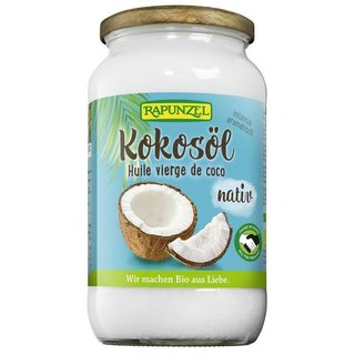 Rapunzel Coconut Oil natively organic 800 g