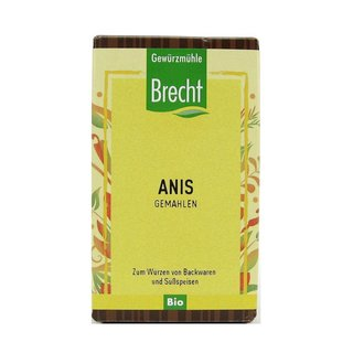 Brecht Anise ground organic 35 g refill pack