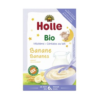 Holle Organic Milk Cereal with Banana 250 g